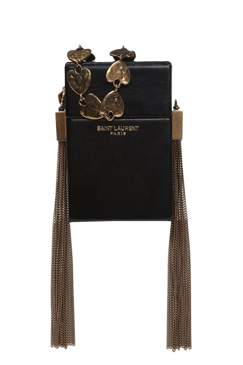 8686baaa929 Cigarette Case - Black - Saint Laurent Shoulder bags Saint Laurent - Black  Cigarette Case -