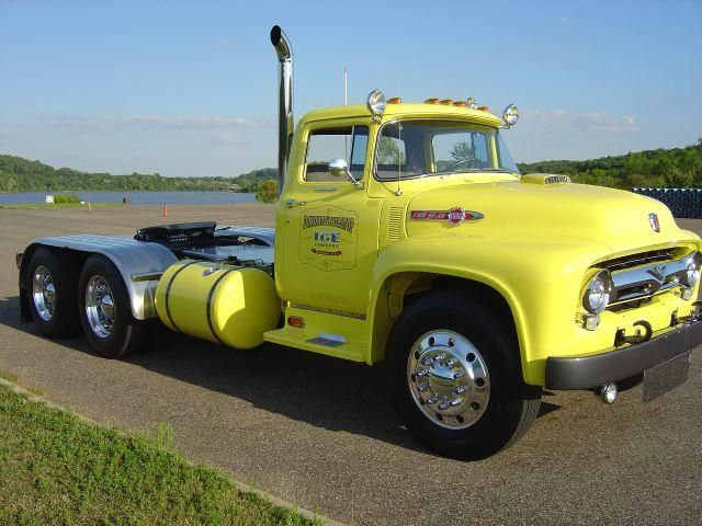 1956 Ford F 750 F800 Big Job Show Truck For Sale In Cambridge Ava