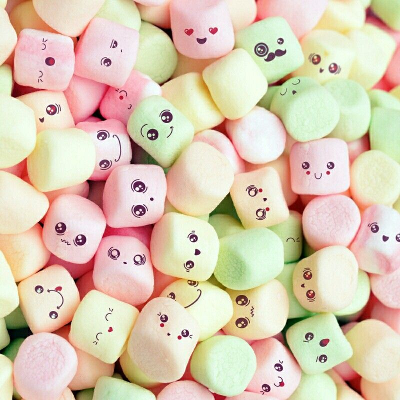 Cute marshmallow wallpaper pinterest marshmallow - Kawaii food wallpaper ...