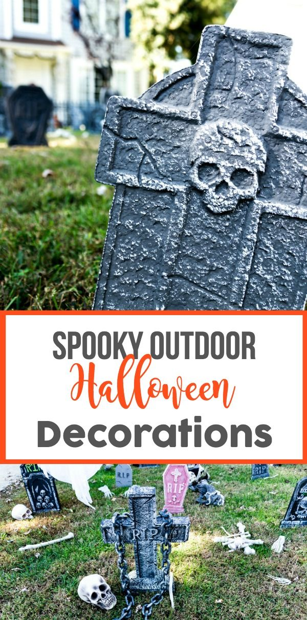 Spooky Outdoor Halloween Decorations Outdoor halloween decorations - how to make halloween decorations for yard