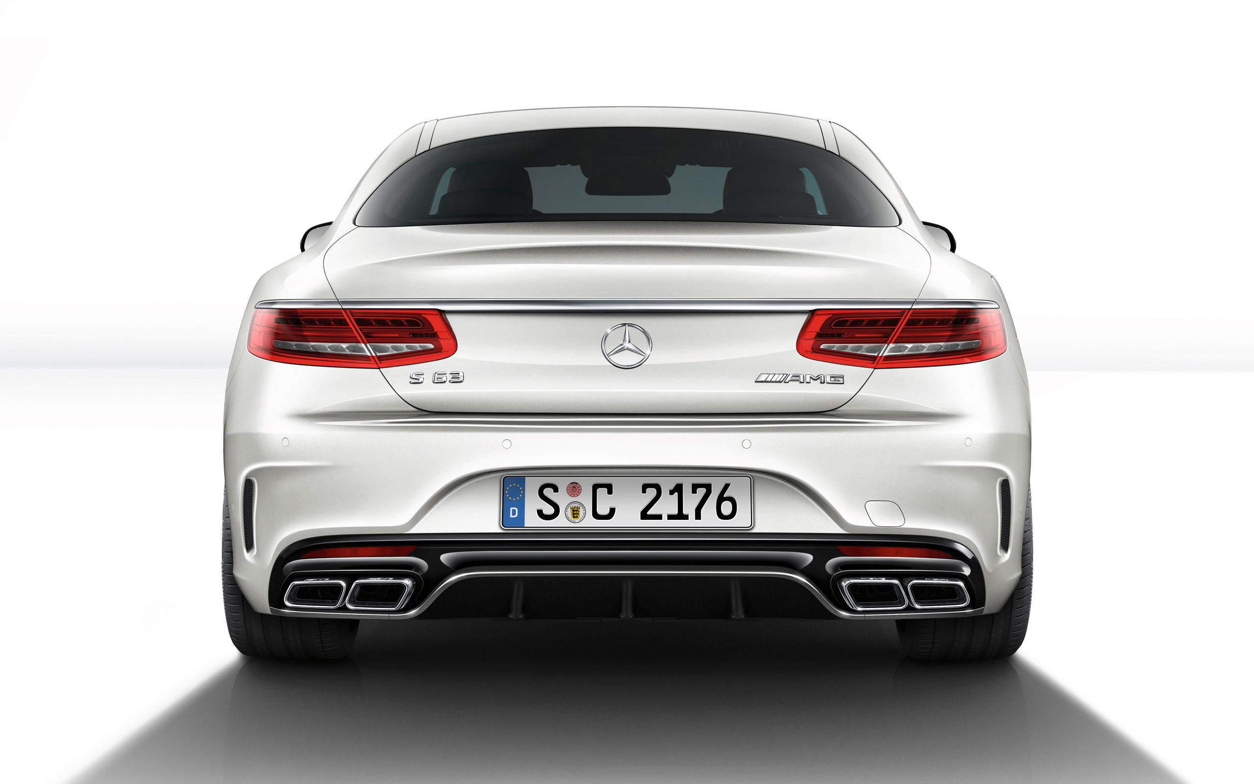 2015 white mercedes benz s63 amg coupe hd