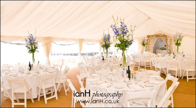 Ever Fancy A Wedding In A Marquee On The Beach Its Possible And We