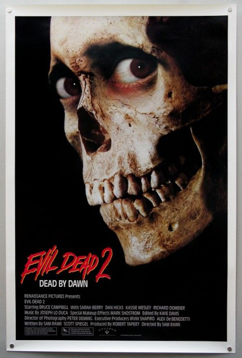 """Evil Dead 2! """"There's somebody in my fruit cellar!"""""""