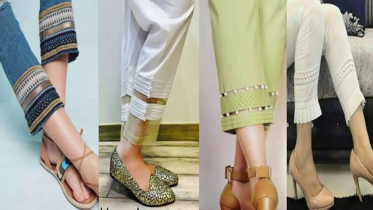 46df4863150f 40 LATEST STYLISH CIGARETTE PANTS DESIGNS 2018 FOR WOMENS GIRLS ...