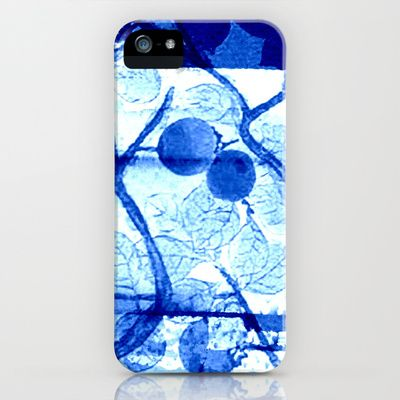 through the tree iPhone & iPod Case #blue