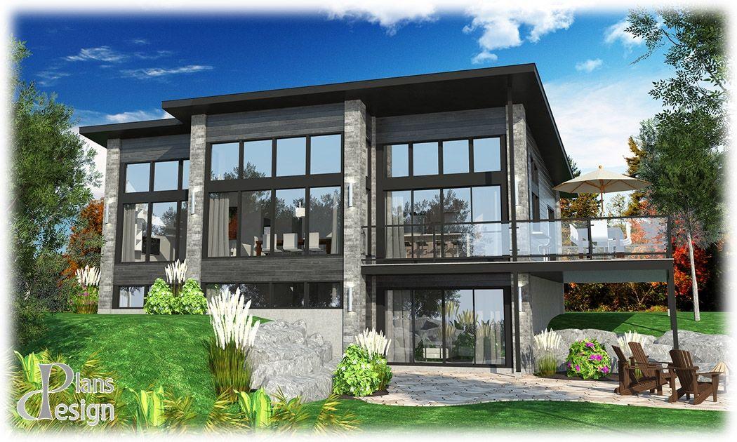 850 - Le Rubrum Bungalow Chalet Maison secondaire Plain pied | Plans ...