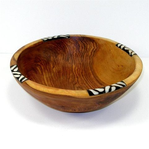 * ~ ~ * Bowl with Inlaid Olive
