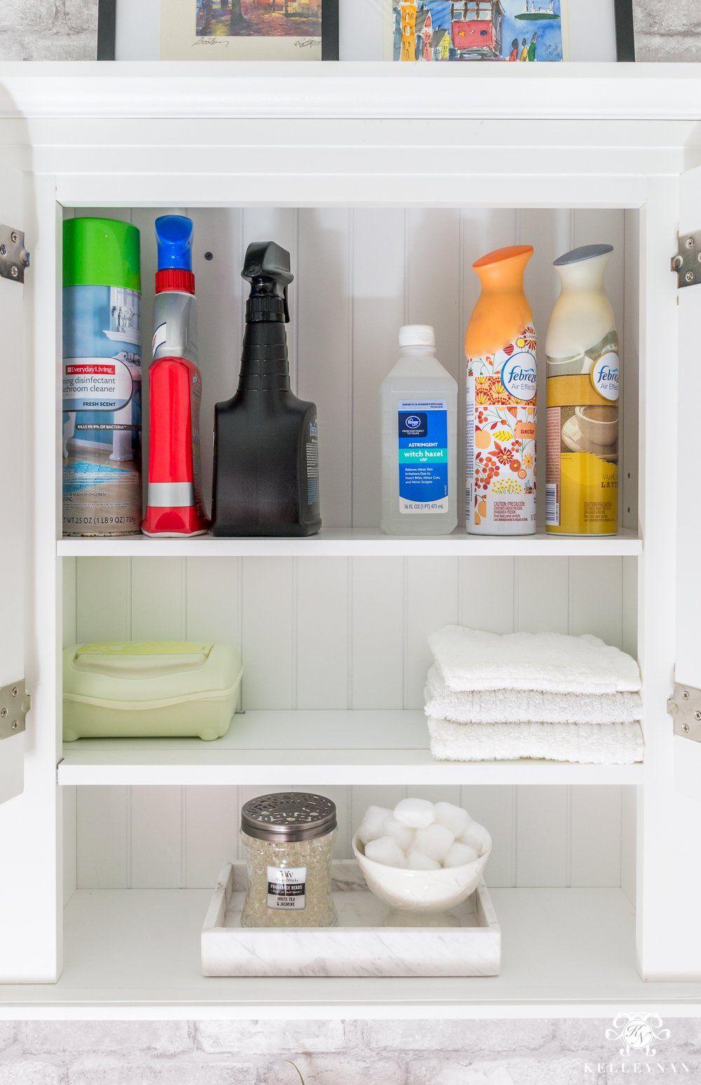 Bathroom Cabinet Storage Ideas in the Toilet Room   Bathroom ...