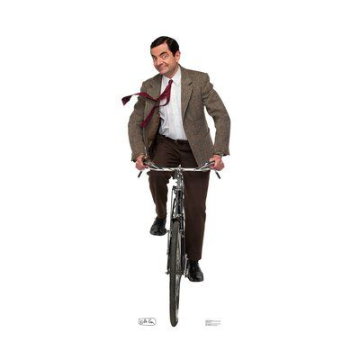 Advanced Graphics Mr Bean Bike Ride Standup Wayfair In 2020 Bike Ride Mr Bean Advanced Graphics