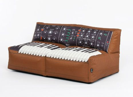 A Minimoog Beanbag Sofa Can Be Yours