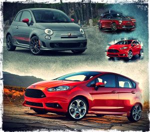 2014 Ford Fiesta St Vs 2014 Fiat 500 Abarth Fuel Economy Ratings