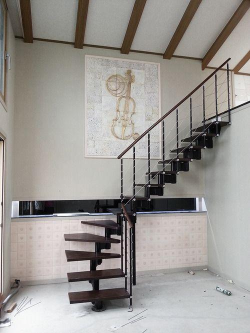 Fontanot pixima long line modular staircase fontanot for Scale pixima