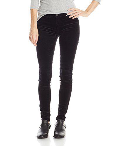 156ca5db86b5b AG Adriano Goldschmied Women's Skinny Legging Velvet Pants, New Super Black,  26 ** Click on the image for additional details.