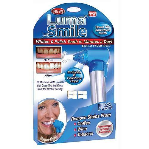 Luma Smile Alat Pembersih Sekaligus Pemutih Gigi Yang Aman Dan