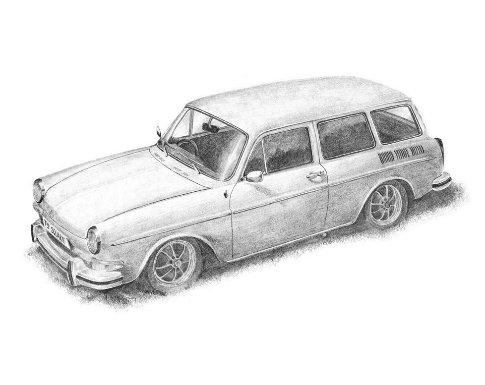 Pencil drawings google search more pages to color for Station wagon coloring pages