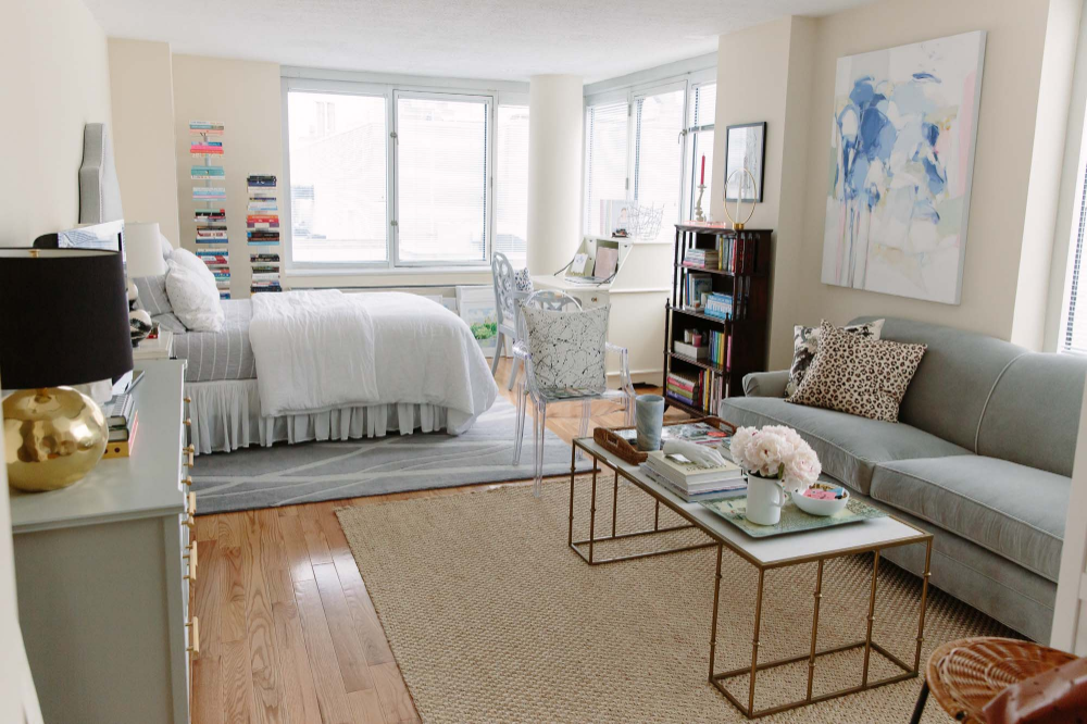 Before and After: My New Studio Apartment | York Avenue