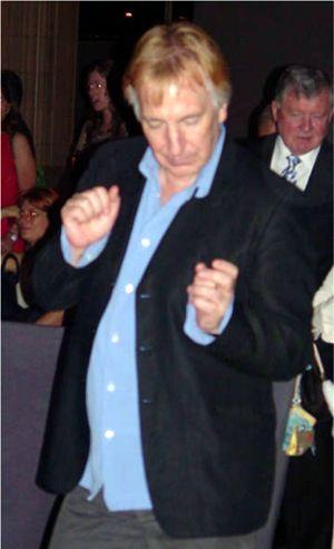 Alan Is Dancing With Images Alan Rickman Alan Rickman Funny