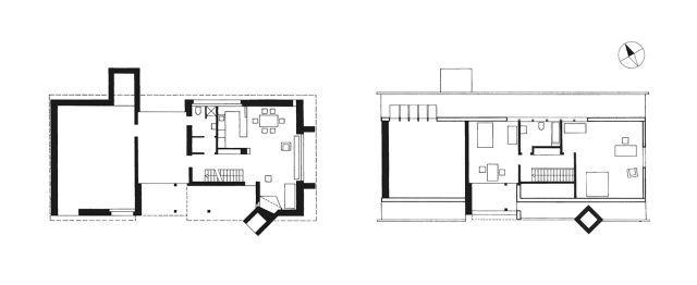 Paul Speck Studio House Tegna Ticino Switzerland 1954 55