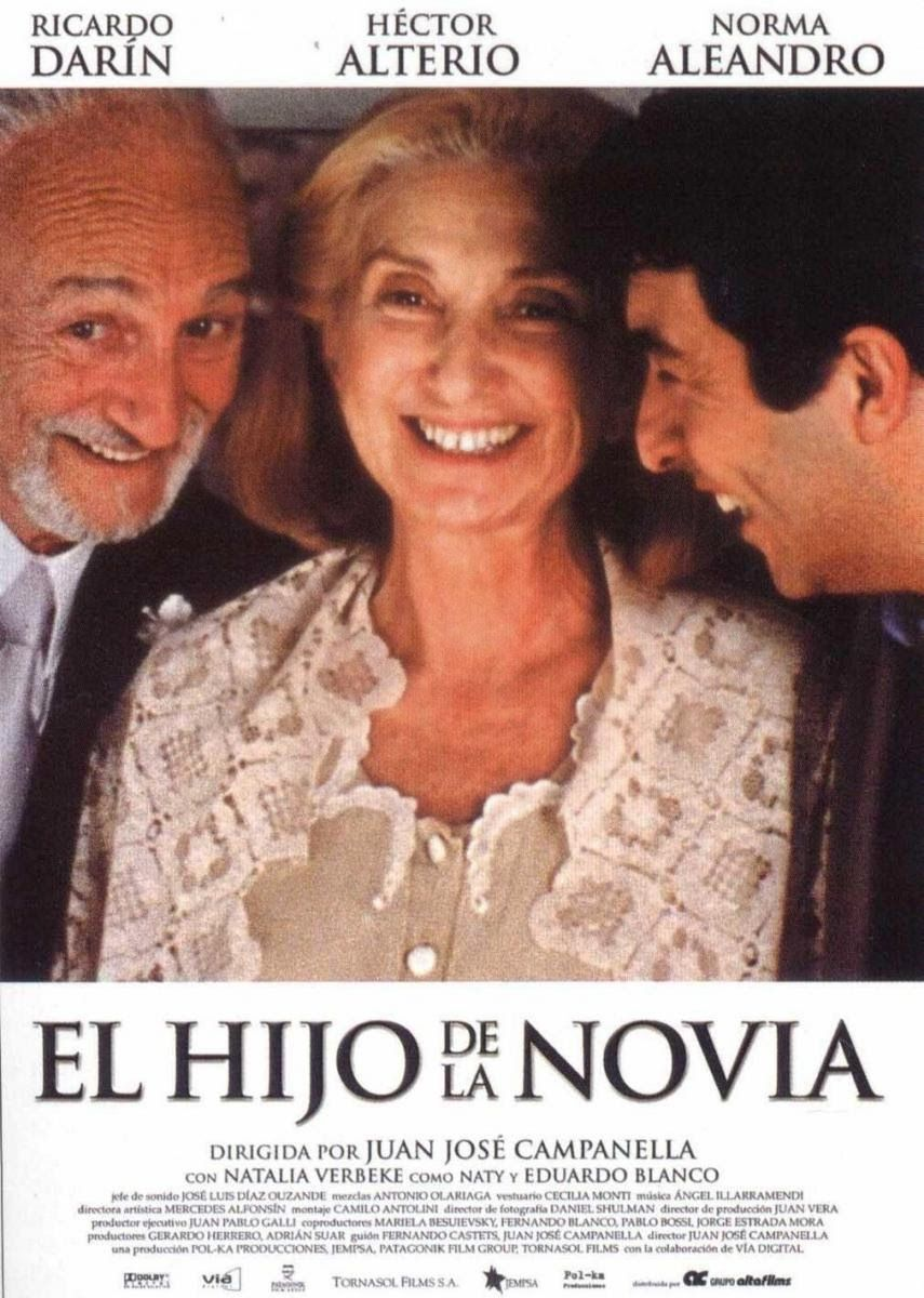 Ver Online El Hijo De La Novia Español Latino Película Completa Hd 720p Vk El Mejor Cine En Casa Chillancom Oscar Mejor Pelicula Peliculas Peliculas Cine