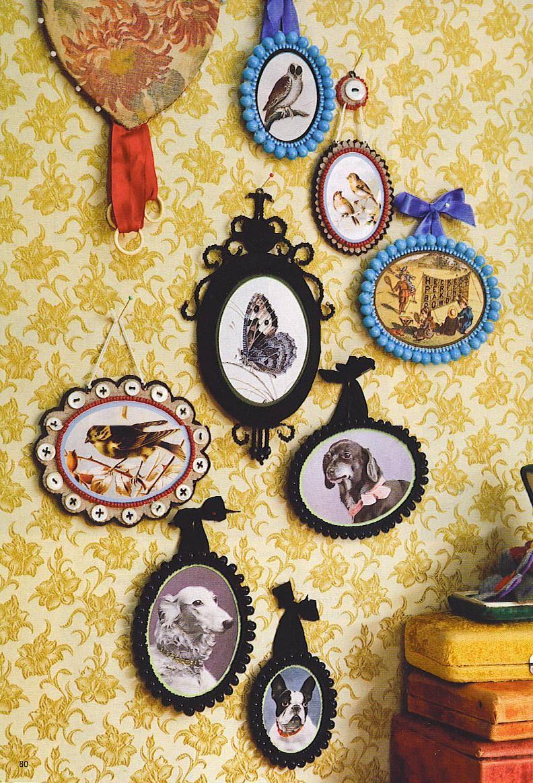 Rebecca Purcell #wallcollage #frames | Cottage kitchens | Pinterest ...