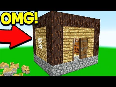 the smallest survival house is 2x2 in which there is everything youtube small modern housesminecraft housesworlds - Smallest House In The World Minecraft