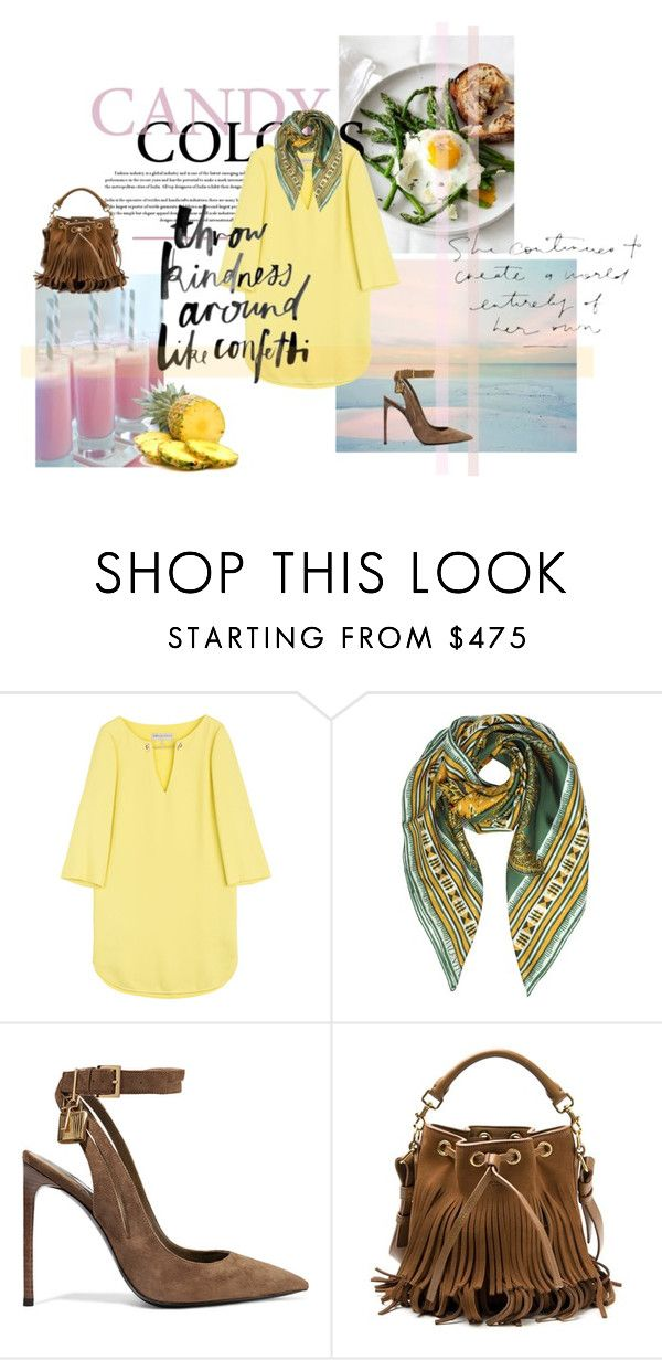 """Summer ootd"" by jadore-nakit ❤ liked on Polyvore featuring Emilio Pucci, Valentino, Tom Ford, Yves Saint Laurent, ootd, jadorenakit and summer2016"