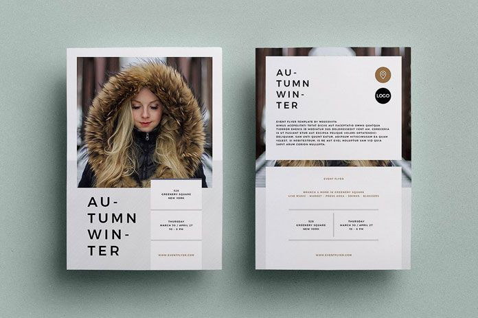 Adobe InDesign Flyer Template for Multipurpose | Adobe indesign ...