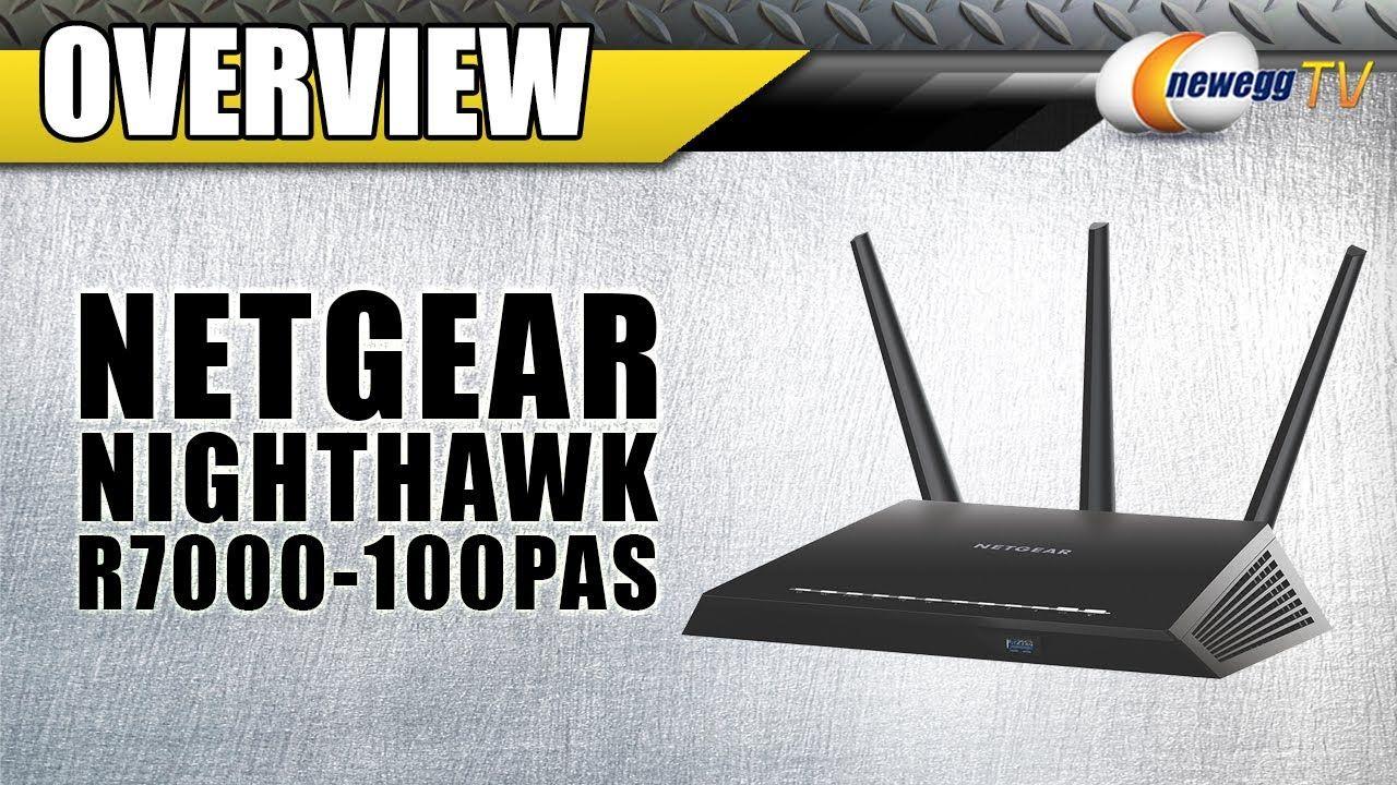NETGEAR Nighthawk AC1900 Dual Band Wireless Gigabit Router
