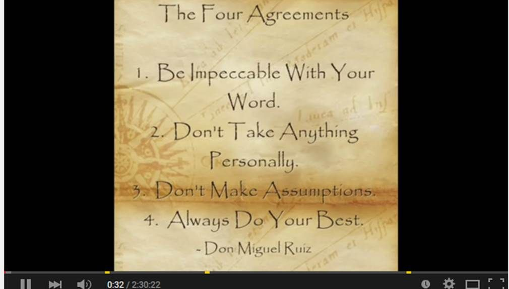 The Four Agreements Don Miguel Ruiz Life Changing Books In