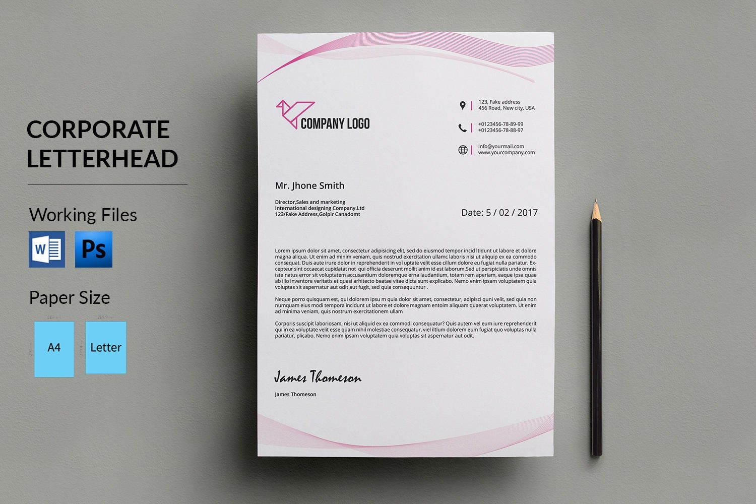 letterhead template business printable objective for resume any position tcs entry level marketing coordinator