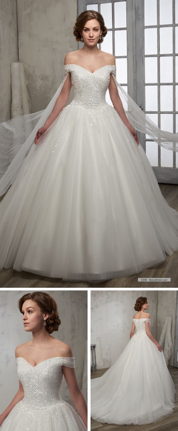 Maryus bridal style u off shoulder bridal ball gown with