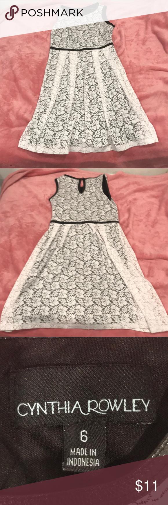 Süßes Spitzenkleid für Schultanz Perfektes Kleid für kirchliche oder schulische Anlässe, …   – My Posh Picks