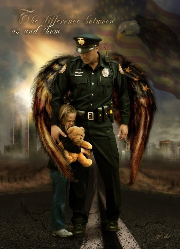 The Difference Police Law Enforcement Hero