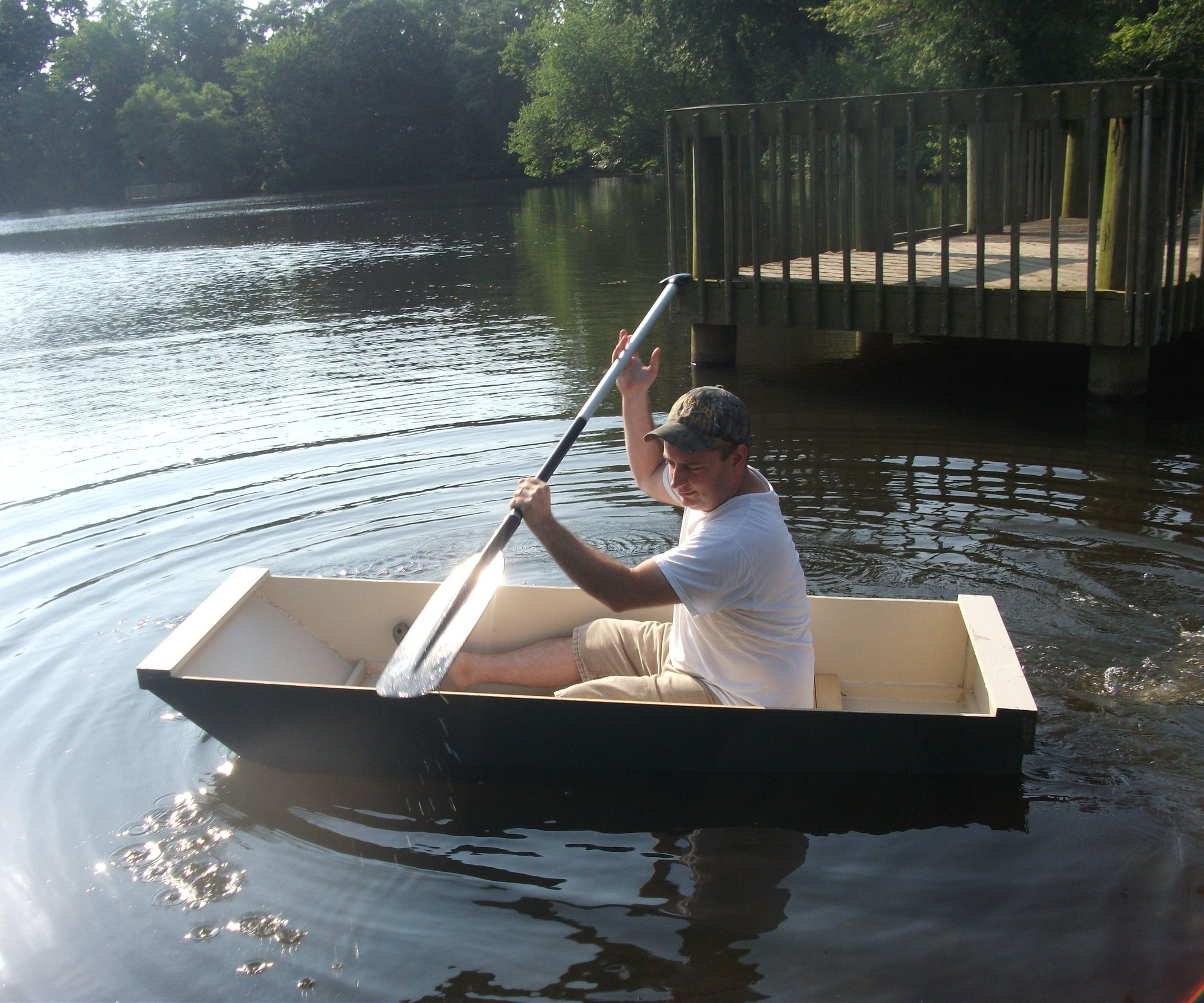 The Bo At Single Sheet Plywood Boat Build Your Own Boat Boat Plans Plywood Boat