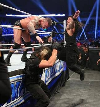 Randy Orton and The Shield