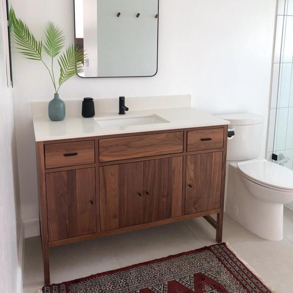 Berkeley Bathroom Vanity Cabinets With Top Modern Bathroom
