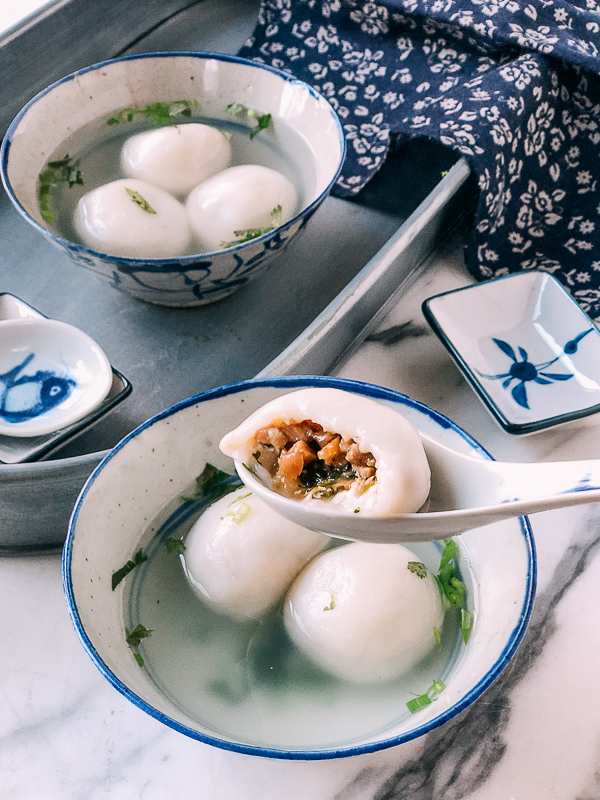 Photo of Savory Tang Yuan: A Traditional Chinese Recipe | The Woks of Life