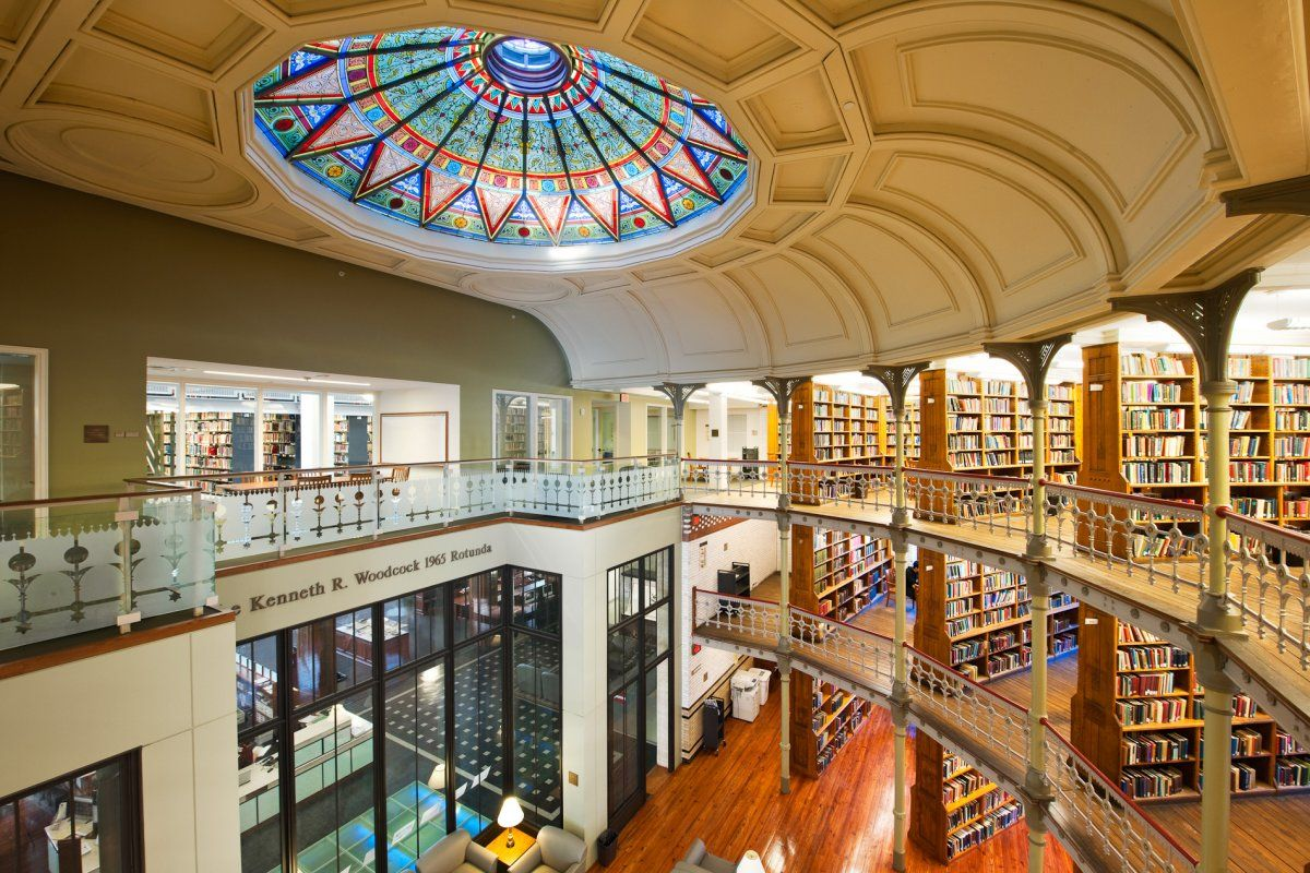 20 Most Beautiful College Libraries In The World Lehigh