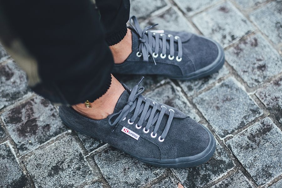 46aaf1a3618a sg superga Www Stone In Grey Superga Shoes com Suede wIXvnTxxq0