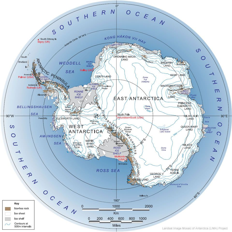 Antarctica satellite image antarctica pinterest antarctica ross island highlighted on map of antarctic continent sciox Images