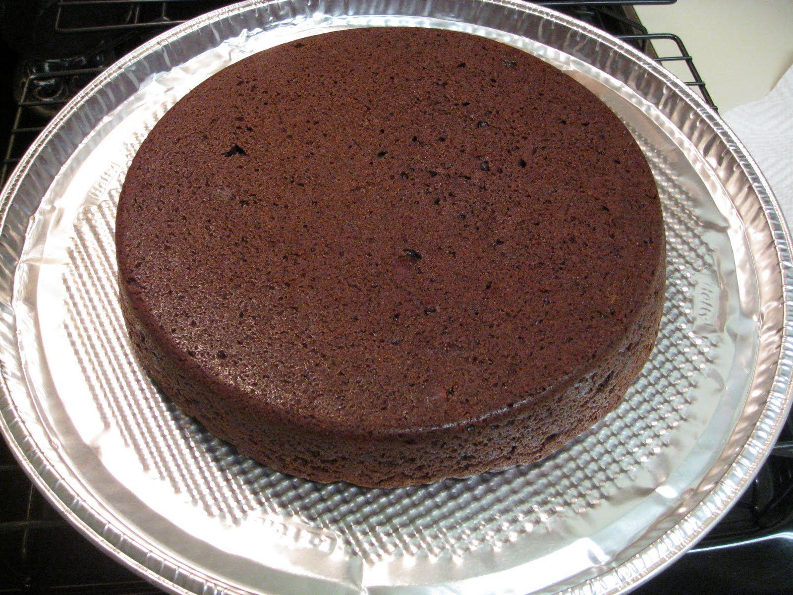 Boiled orange chocolate cake recipe