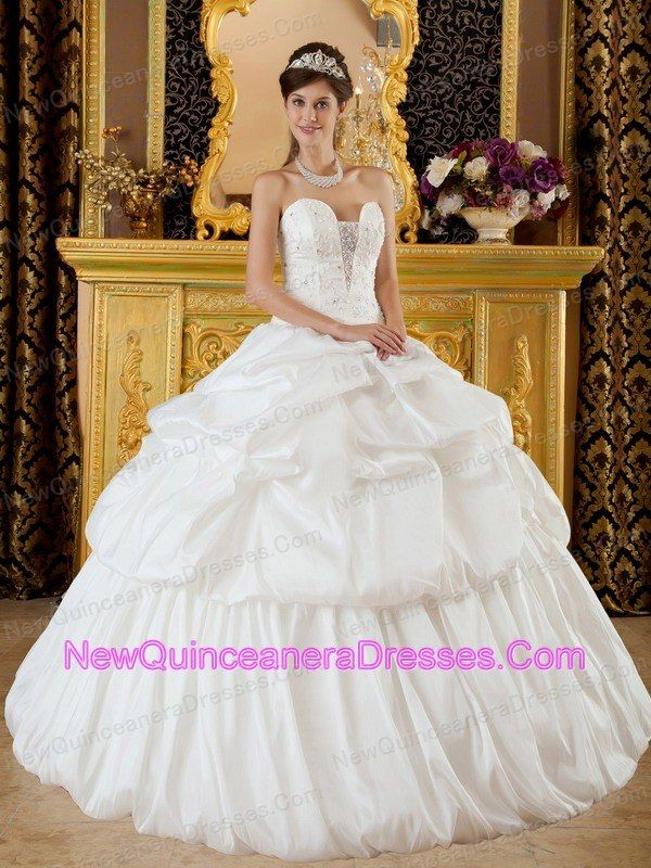 Love this dress!!! Might be a bit hot for a july quince!   My ...