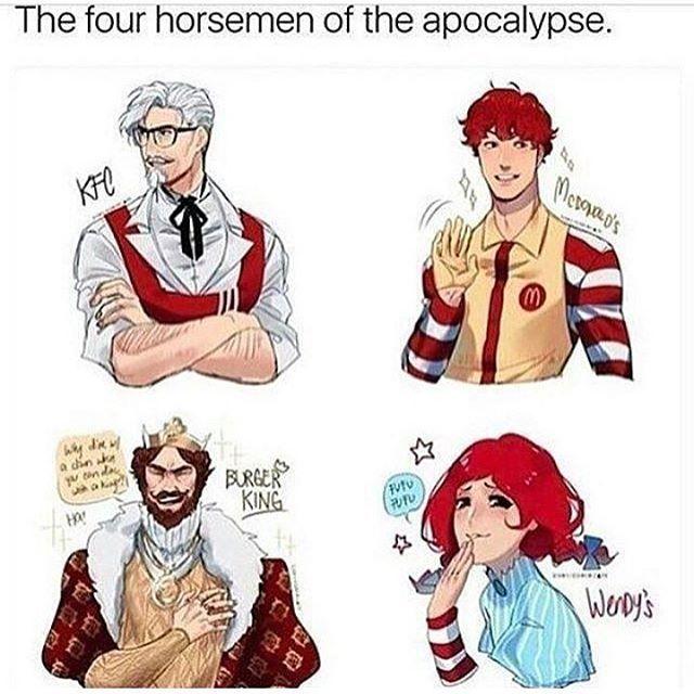 Fast Food Moguls Anime Version Anime Memes Funny Anime Version