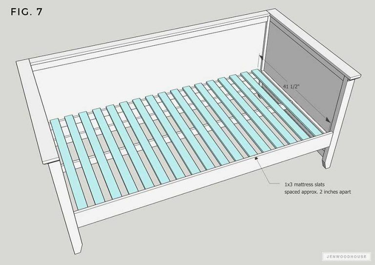 Diy Twin Daybed With Trundle Free Plans By Jen Woodhouse Diy