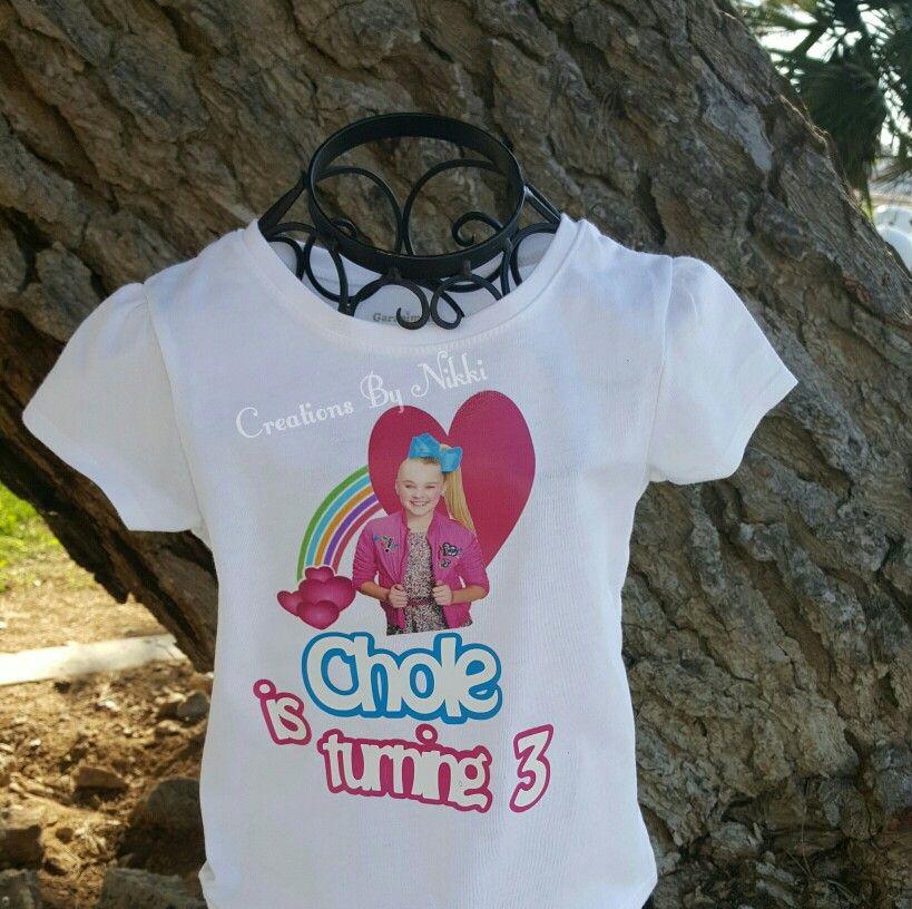 71829f579 Jojo Siwa shirt Jojo Siwa Shirts, Glitter Vinyl, Girl Birthday, Custom  Shirts,