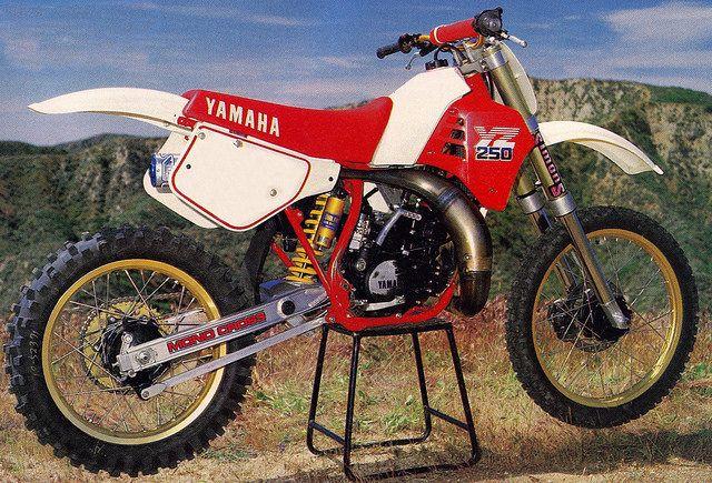 1986 Yamaha Yz250 Cool Dirt Bikes Vintage Motocross Yamaha