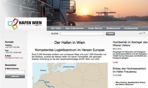 Hafen Wien © echonet