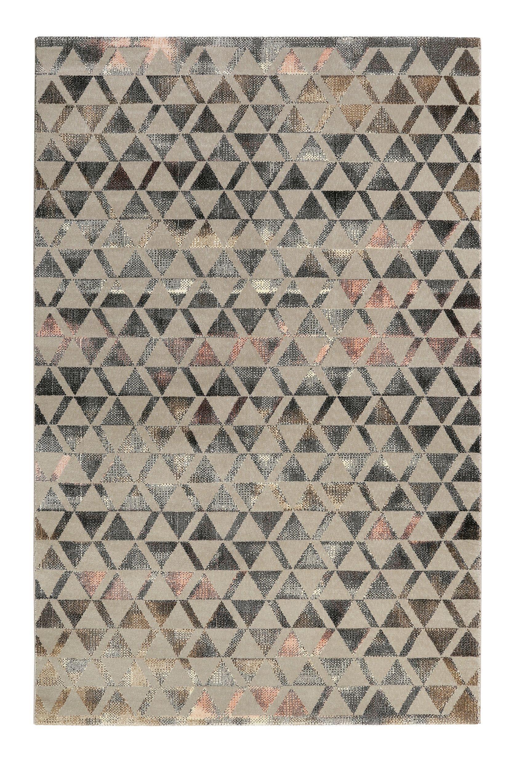 Teppich Grau Schwarz Rosa Kurzflor Pearl 2 Weconhome Kurzflor Teppiche Teppich Teppich Grau