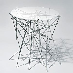 Blow-up coffee table by Alessi