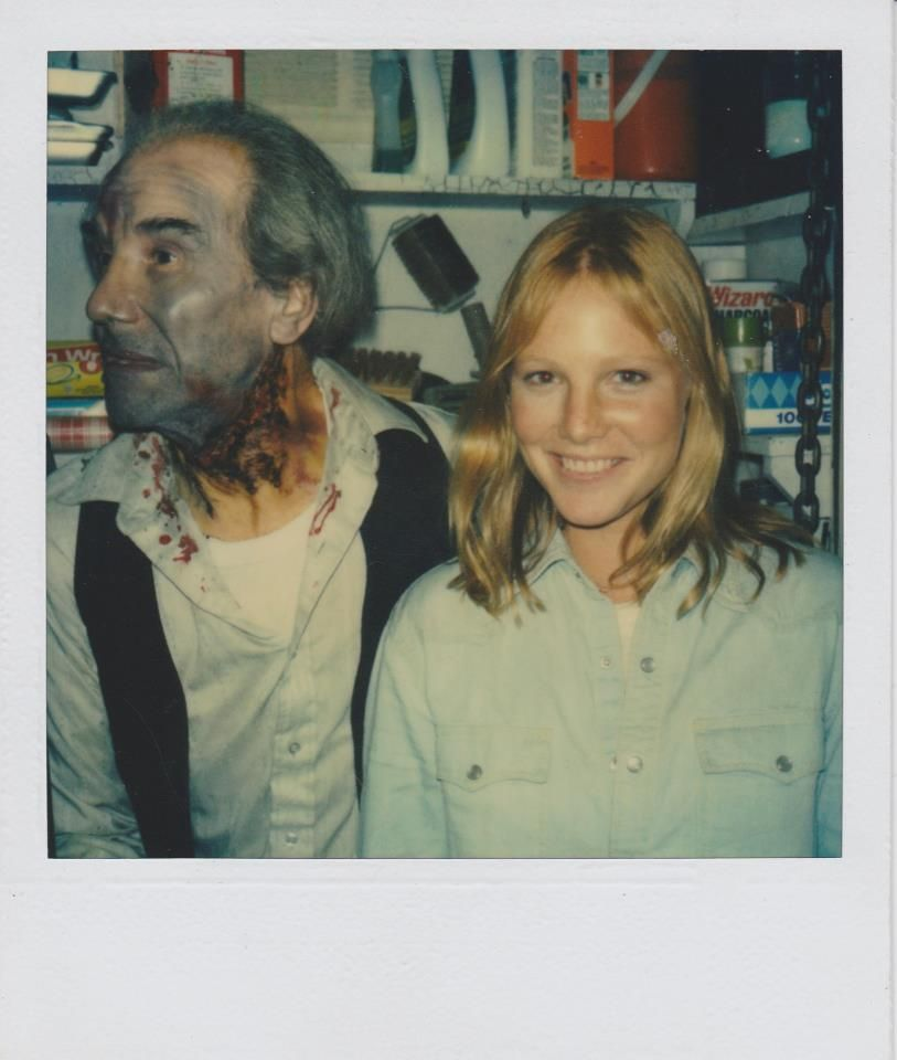 Friday the 13th Part II (1981) Amy Steel and Walt Gorney